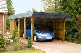 Carport Spreewald:  Garages/schuren door HMG Benelux