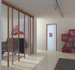 أبواب زجاجية تنفيذ ALM Design