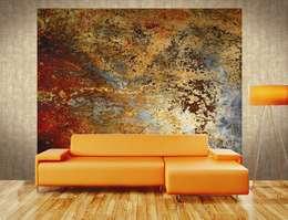 Paredes y pisos de estilo industrial por Bianchi Lecco srl
