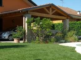 Come realizzare un portico per la casa for Casa in stile ranch con portico