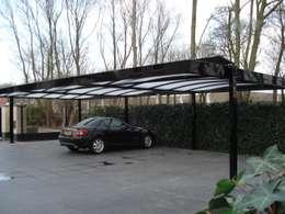 Carports: moderne Garage/schuur door Carport Harderwijk