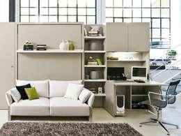 Livings de estilo minimalista por Mobiliario Xikara