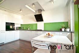 Apartament 1000 lecia Myślenice: styl , w kategorii Kuchnia zaprojektowany przez Novi art