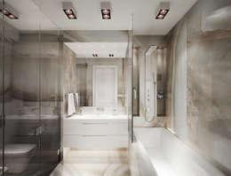 minimalistic Bathroom by DenisBu