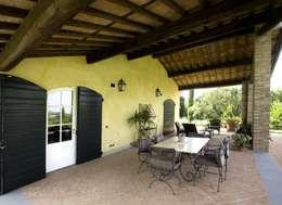 Terrazas de estilo  por Studio Tecnico Fanucchi
