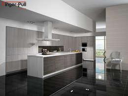 minimalistische Küche von ALVIC