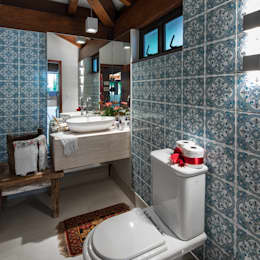 حمام تنفيذ Camila Tannous Arquitetura & Interiores