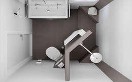modern Bathroom by Sani-bouw