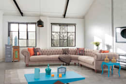rustic Living room by Mahir Mobilya
