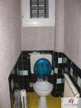 Rénovation WC Avant:  de style  par VALORIDOM