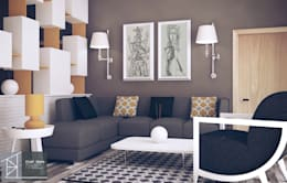 modern Living room by Bledi Skora Design