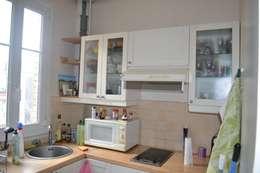 Home staging cuisine avant:  de style  par VALORIDOM