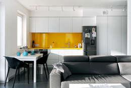 Mieszkanie Bażantowo: styl , w kategorii Kuchnia zaprojektowany przez musk collective design