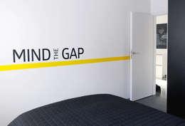 Mieszkanie Bażantowo: styl , w kategorii Sypialnia zaprojektowany przez musk collective design