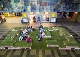 musk collective design의  정원