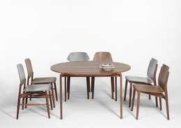 Tavolo Magot per Caon arreda: Sala da pranzo in stile in stile Moderno di Luciano Bertoncini