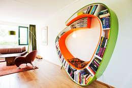 غرفة المعيشة تنفيذ Atelier 010