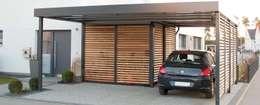 homify: modern tarz Garaj / Hangar