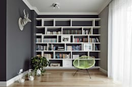 scandinavian Living room by AvoCADo