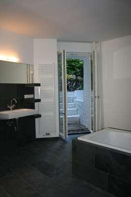 umbau einer souterrainwohnung in berlin friedenau. Black Bedroom Furniture Sets. Home Design Ideas
