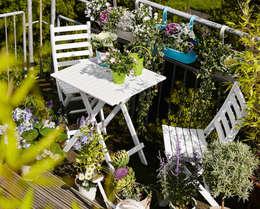 landelijk Balkon, veranda & terras door Rasa en Détail