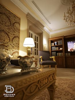 classic Living room by 3D Render&Beyond