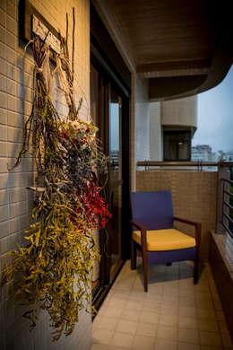 HELENAROCHAarquitetura: Terraços  por HELENAROCHAarquitetura