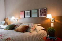 Apartamento Bravo: Quartos  por HB Interiores