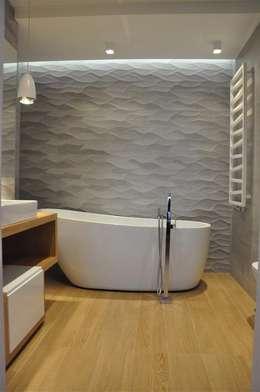 łazienka prywatna: styl , w kategorii Łazienka zaprojektowany przez Tarna Design Studio