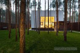 Дом-куб: Дома в . Автор – Yakusha Design