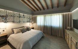 Chambre de style de style eclectique par kababie arquitectos