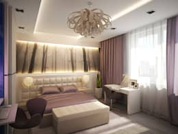 Квартира для души: Спальни в . Автор – Polovets design studio