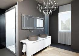 Salle de bain de style de style Moderne par Architetto ANTONIO ZARDONI
