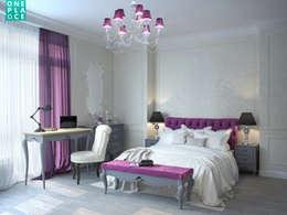 Однушка на 78 м. кв.: Спальни в . Автор – OnePlace studio interior design