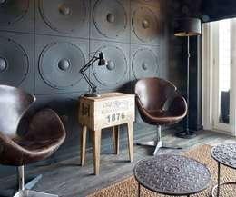 Paredes de estilo  por Loft Design System Deutschland