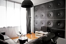 Wandgestaltung mit wow effekt 6 aufregende ideen - 3d wandpaneele betonoptik ...