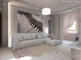 Livings de estilo mediterraneo por Arch. Giorgia Congiu