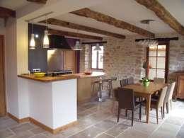 Rénovation complète d'une cuisine: Cuisine de style de style Moderne par Atelier Cuisine
