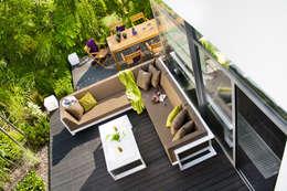 Zestaw ogrodowy Toscania: styl , w kategorii Ogród zaprojektowany przez Kupmeble.pl