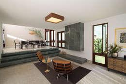 Projekty,  Salon zaprojektowane przez Mutabile