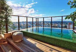 modern Pool by Tellini Vontobel Arquitetura