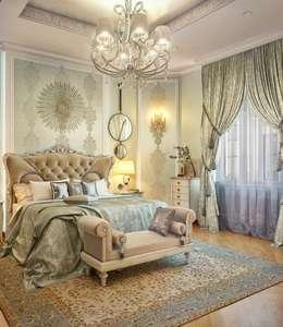 klasieke Slaapkamer door Sweet Home Design