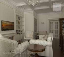 Квартира в Санкт-Петербурге: Гостиная в . Автор – Orlova Home Design