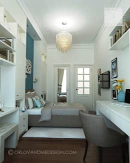 Квартира в Санкт-Петербурге: Детские комнаты в . Автор – Orlova Home Design