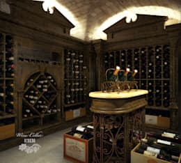 Bodegas de vino de estilo mediterraneo por Sweet Home Design