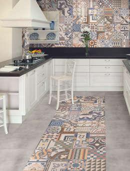 مطبخ تنفيذ The Baked Tile Company