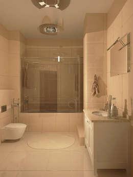 Квартира в Ростове-на-Дону: Ванные комнаты в . Автор – AnARCHI