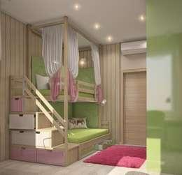 Квартира в В.Пышме: Детские комнаты в . Автор – E_interior