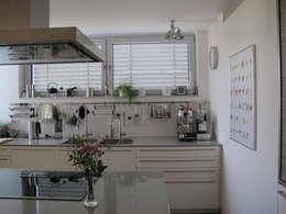 modern Kitchen by bohnarchitektur