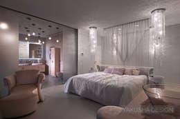 Fashion apartment: Спальни в . Автор – Yakusha Design